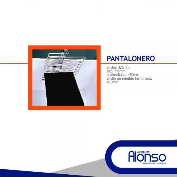 pantalonero para closet